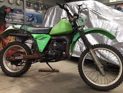 Kawasaki KDX175 1981