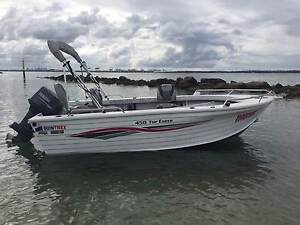 Quintrex 450 Top Ender T/S (2004) Kurnell Sutherland Area Preview