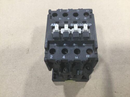 ABB BHD30C2P Control Contactor 30A 500V #130B16
