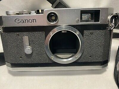 【Exc+5】Canon P Rangefinder Film Camera  from Japan #403