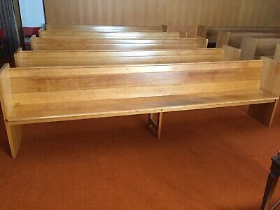 Church Pews in excellent condition