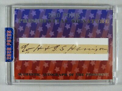 William Henry Harrison - Ink Signature - Died One Month into His Presidency