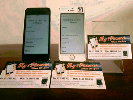 Iphone 5s 16 & 32 gb with 3 months warranty and all accessories