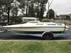 Ski craft jet boat very rare fun boat Hoxton Park Liverpool Area Preview