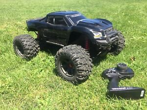 Snap on traxxas xmaxx brushless 8s rc truck