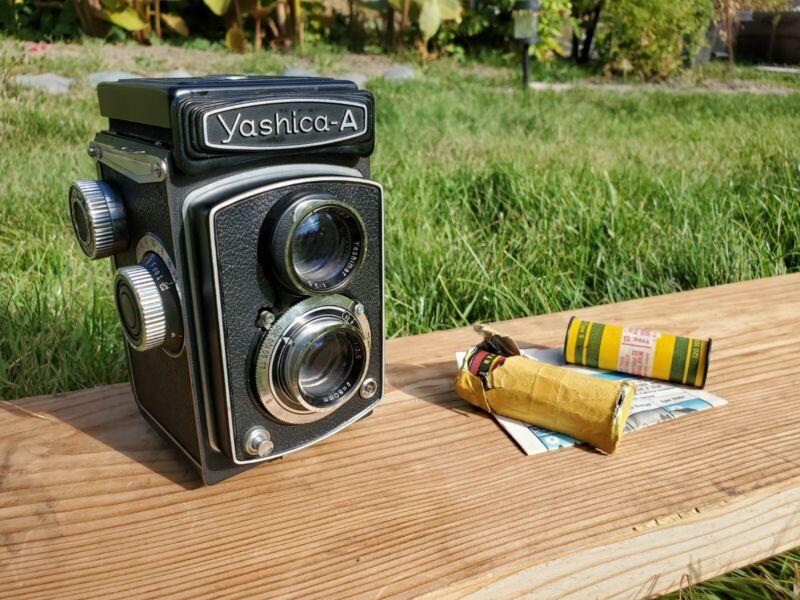 Yashica A TLR Twin Lens Reflex Medium Format Film Camera