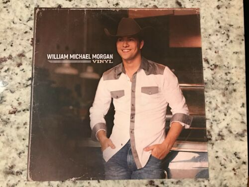 William Michael Morgan Vinyl 12 x 12 card stock photo