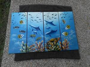 REEF PICTURES SET OF 4 Pimpama Gold Coast North Preview