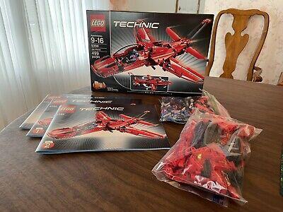 LEGO Technic 9394 Jet Plane (Retired) 100% Complete