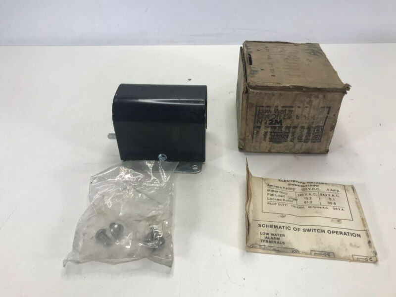 McDonnell & Miller No. 2M Low Water Cutoff Switch NOS