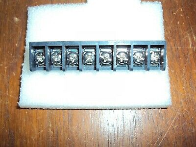 8-position Pcb Mount Single Row Barrier Terminal Block 8.26mm0.325 Pitch Nos