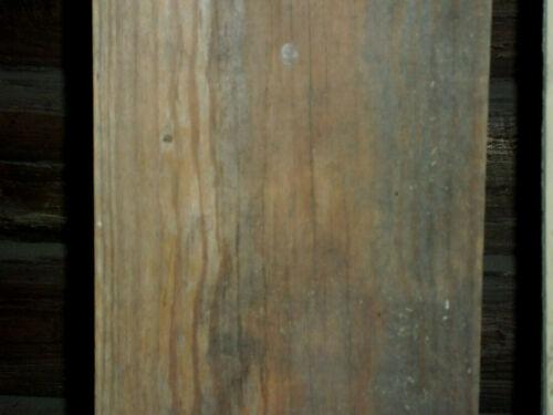 "vintage old wood board cut lumber 14 feet x 7 + 1/8"" x 3/4"" salvage Charlotte NC"