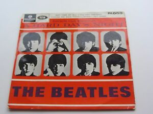 THE BEATLES ORIGINAL 1964 U.K. EP EXTRACTS FROM  A HARD DAYS NIGHT  VOLUME 2