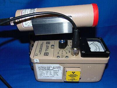 Ludlum 3 W 44-3 Scintillator Probe Geiger Radiation Gamma Wcheck Source