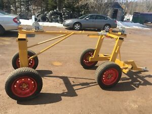 **NEW** ATV / tractor Log Skidder yarder with rear support