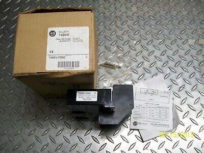 New Allen Bradley 1494v-fs60 Trailer Fuse Block Kit
