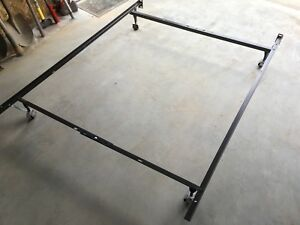 Single/double metal bed frame - SOLD PPU