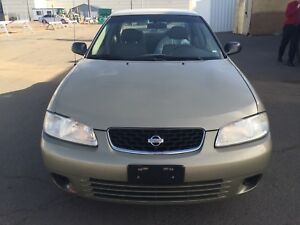 2002 Nissan Sentra XE! 2 sets of rims/tires. Perfect starter car