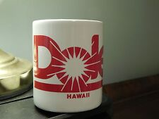Dole Plantation ~ Wahiawa, Hawaii (CERAMIC) Red-White ...