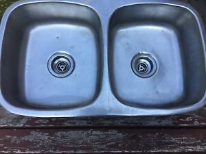 Stainless Steel top mount double kitchen sink