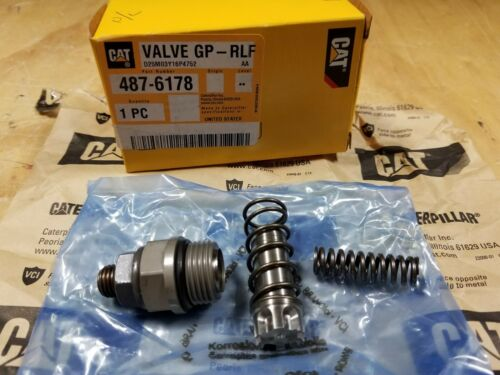Genuine CATERPILLAR CAT Relief Valve Kit - 487-6178 - NEW