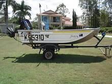 Stessl Edge Tracker with 15 HP Mercury SeaPro Barellan Point Ipswich City Preview
