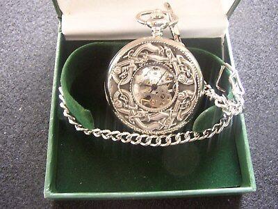 Irish Theme Windup Pocket Watches, Dragon, Kells, Scotland, Knot, Mullingar](Irish Theme)