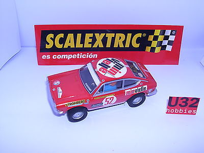 Scalextric Spain Seat Sport 850 Coupé #52 Rallye Costa von Sonnenbrille 1969
