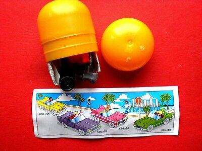 1995 EU Auto CORVETTE  K 96 N 89 + BPZ  noch unbebaut im Ei!