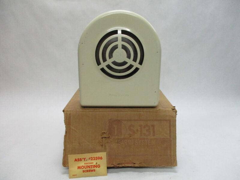 NuTone S-131 Alarm System Inside Alarm Horn