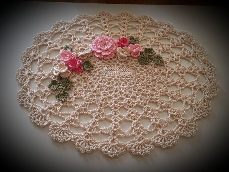 Choose Your Own Color Crochet Doily unique gift idea by leochic033