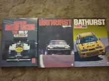 Australian motor racing year & 2 bathurst books all H/C Panorama Panorama Mitcham Area Preview