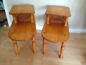 Hand crafted tables