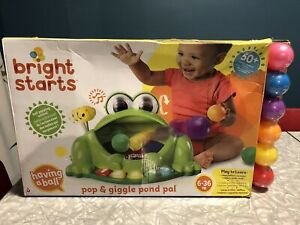 Bright stars pop and giggle pond pal BNIB