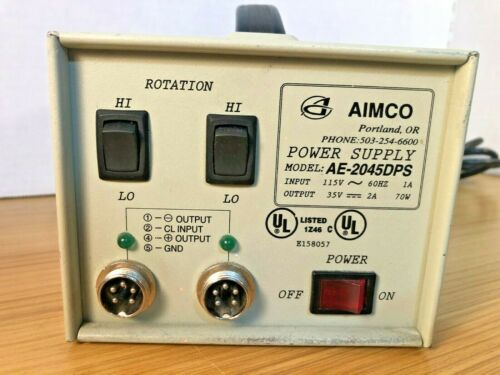 Aimco AE-2045DPS 115V 70W Dual Speed Electric Screwdriver Power Supply White