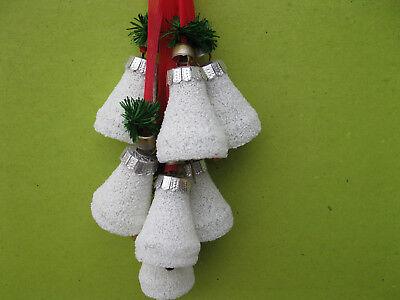 Glasgöckchen aus Lauscha-  Weihnachtsbaumschmuck handgefertigt DDR