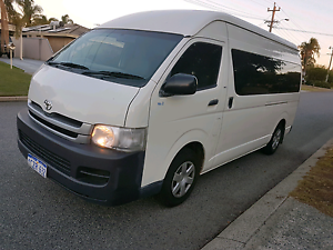 Toyota Hiace 2006 Auto...High Roof 5Doors  New TYRES  SAFETY FEAT Willetton Canning Area Preview