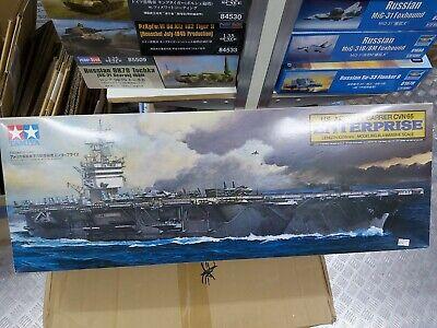 Tamiya 1/350 U.S. Aircraft Carrier Enterprise Model Ship Kit 78007