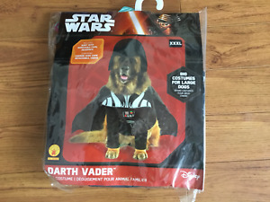 Dog costume XXXL Darth Vader