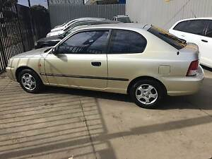 2000 Hyundai Accent Hatchback AUTOMATIC, LOW KLS Fawkner Moreland Area Preview