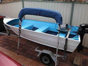 great boat pakage 5hp outboard/tinny & trailer Berkeley Vale Wyong Area Preview