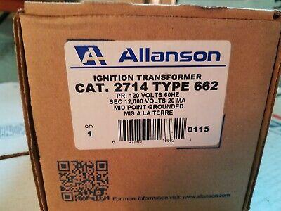 Allanson 2714-662 Ignition Transformer
