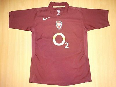 RARE  ARSENAL Highbury 2005 2006  shirt trikot NIKE HOME xl junior image