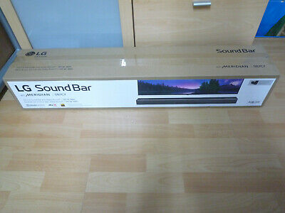 LG SN7CY 3.0.2 Soundbar Dolby Atmos MERIDIAN All-in-One Schwarz Black NEU + OVP