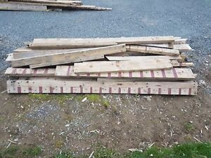 Free Lumber - 2x4, 2x6 and fire wood