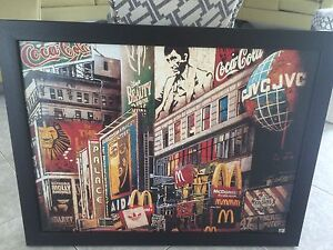 ***TIMES SQUARE PHOTO BANNER*** mint condition