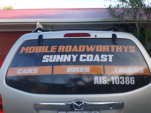 Bike and scooter roadworthy Kuluin Maroochydore Area Preview