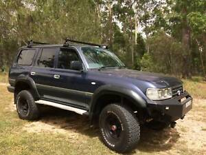 LandCruiser 80 series 5.0lt V8 efi, engineered, NSW rego