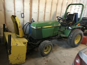 Jd compact tractor