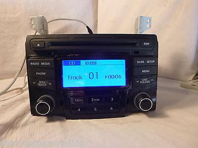 11 12 2011 2012 Hyundai Sonata Radio Cd MP3 Player 96180-3Q700 BF 114